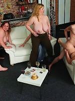 She takes dick in her drunken fat pussy