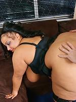 Black BBW masseuse got fucked