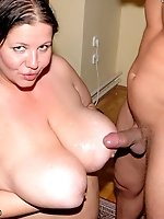 """Hungry for some desperate cock. Wonder Tracy invites her neighbor over for a """"friendly"""" visit whens he savagesly takes his"""