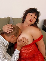 BBW gets fucked and facialed