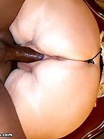 Shugar finds herself in a very erotic encounter with a black male wanting to stick his meat stick inside her wet twat